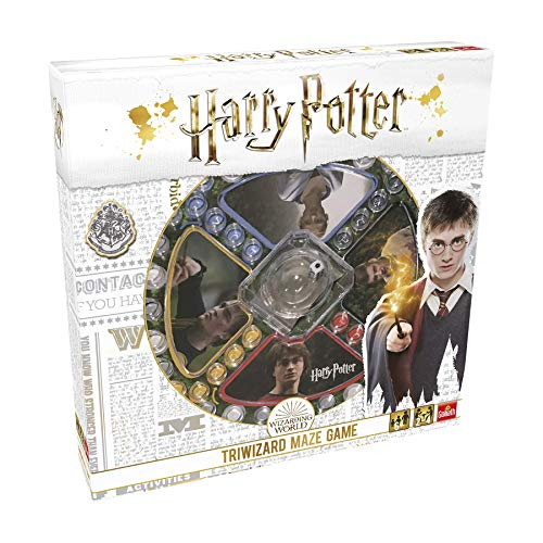 51i6Kna2LGL - Pressman- Harry Potter Los Tres Magos Juego de Mesa, Multicolor (Goliath Games 108672)