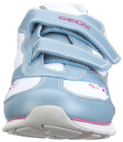 Geox Jr Noemi J22C5K05411 Mädchen Sneaker Blau (ocean/white C4338)