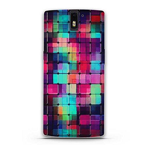 DIKAS OnePlus One Hülle, 3D Erleichterung Fantasie Muster Künstlerische Malerei-Reihe TPU Case Schutzhülle Silikon Case für OnePlus One (1+1) - Pic: 27 (Pics Künstlerisch)
