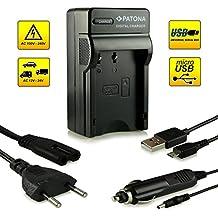 ¡Novedad! – El primero cargador de batería con conexión micro USB · adecuado para la batería D-Li109 DLi109 para Pentax K-2 | K-30 | K-50 | K-500 | K-r y mucho más…