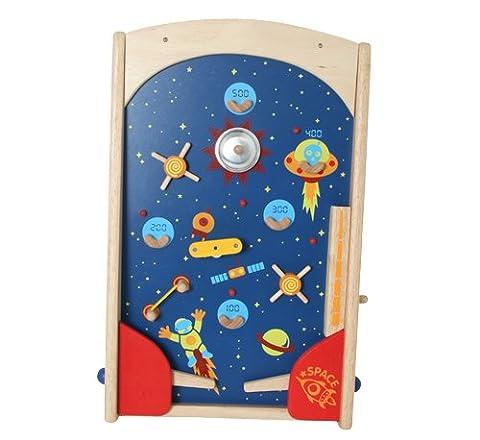 Space Pinball en bois