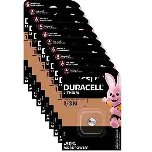 Duracell DL1/3N 10x Lithium Batterie DL1/3N/2L76/CR11108