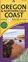 Oregon & Northern California Coast Road & Recreation Map, 8th Edition