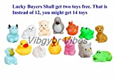 #9: Vibgyor Vibes Toys™ for Baby/Toddler/Infant/Child (Mixed Colors)(Pack Of 12)