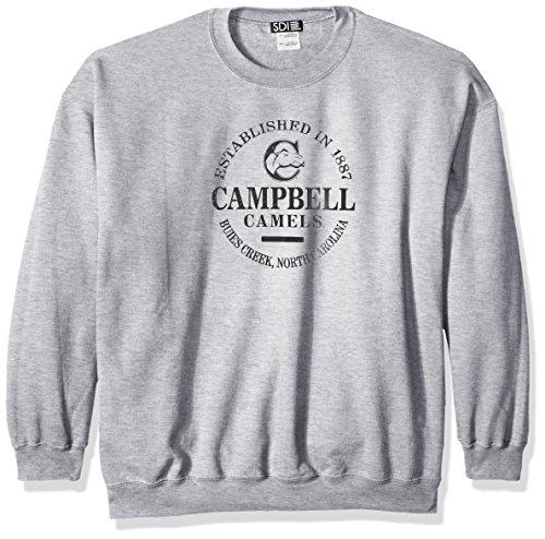 NCAA American University Eagles Unisex NCAA 50/Blended 236 ml Sweatshirt mit Rundhalsausschnitt, Unisex, SPOR, Grau, XXX-Large American Eagle Sweatshirt
