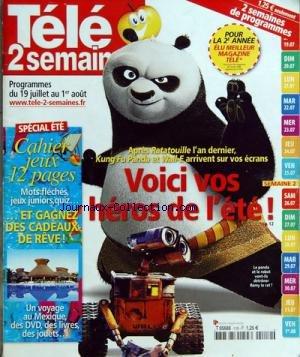 TELE 2 SEMAINES [No 119] du 19/07/2008