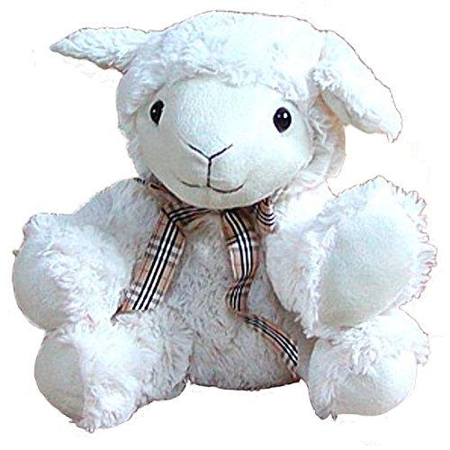 Preisvergleich Produktbild Stofftier Schaf, Kuscheltier, Plüschtier Schaf aus Mikrofaser, voll waschbar, ca. 25 cm hoch