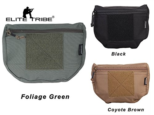 eLITe Tribe Softair Weste Hunting Pouch Tactical Armor Carrier Drop Pouch AVS JPC CPC, Laubgrün - Drop-weste