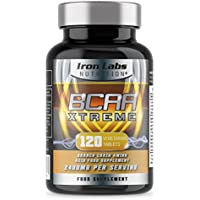 Iron Labs Nutrition, BCAA Xtreme - 2400mg BCAAs per Serving x 40 Servings - 120 Tablets