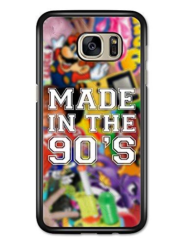 Micro Gorilla Made in The 90s Kid Retro Nostalgia Game Console Tv Shows hülle für Samsung Galaxy S7 Edge