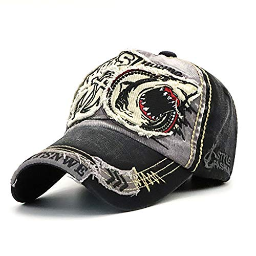 JLCP Baumwoll-Hip-Hop-Hip-Hop-Hut, Männliche und Weibliche Outdoor-Sonnenschirme Hut Mütze, Lässiger Baseball-Hut,C