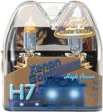Unitec 77767 - Bombillas para faros delanteros de coche (H7, Xenon Gold, 12 V, 55 W, 2 unidades)