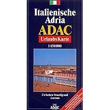 ADAC Karte, Italienische Adria (ADAC Urlaubskarten)