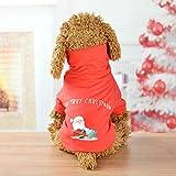 Berrose-Weihnachten Haustier Hund Sweatshirt Herbst Winter Hunde Bekleidung Kostüm Kleidung Katze Weihnachten Santa Anzug
