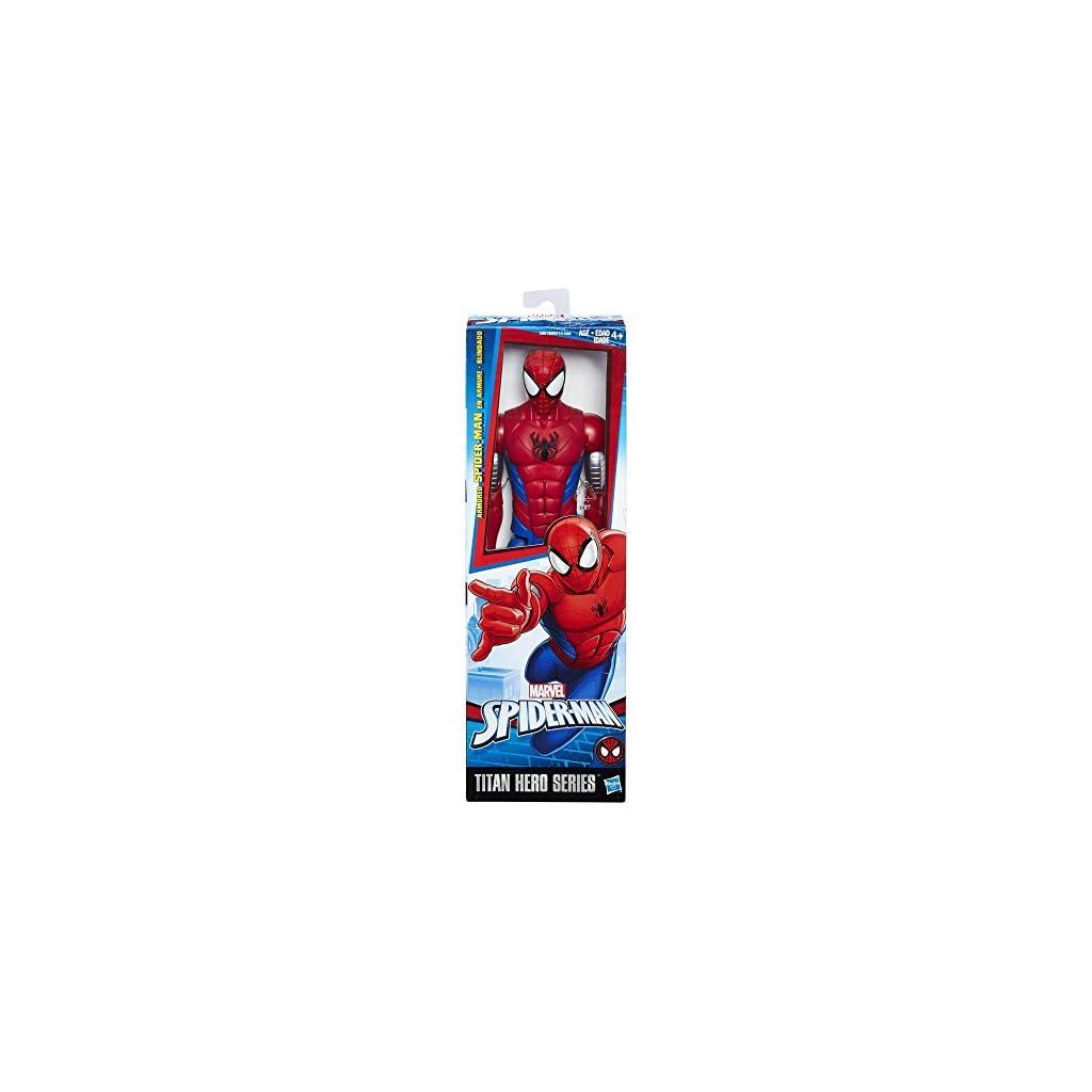 Hasbro Spider-Man Titan Hero Armored Spider-Man 1pieza(s) Multicolor Niño/niña - Figuras de Juguete para niños… 9