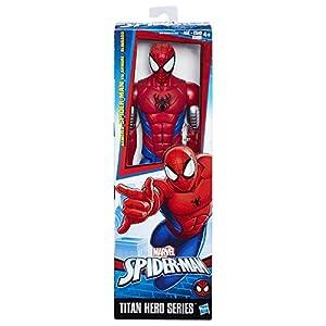 Hasbro Spider-Man Titan Hero Armored Spider-Man 1pieza(s) Multicolor Niño/niña - Figuras de Juguete para niños… 4