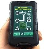 6V & 12V 1.5AMP Automatischer Batterieladegerät Wartung für Blei S?ure Batterie SLA/GEL/AGM Batterien 6V 7-60Ah,VRLA/WET Batterie 12V 7-40AH