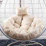 GGYDD Appeso Uovo Amaca Chair Cushions,Swing Nido Cuscini per Sedia Divano Pad Supporto Lombare Pattino Posteriore con Cuscino-1