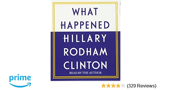 hillary clinton what happened audiobook download