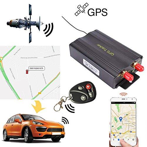 Rastreador GPS SMS TK103B con mando a distancia de control, software versión...