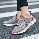 Hasag Scarpe sportive da donna scarpe casual traspiranti scarpe da corsa scarpe nuova estate, 38, polvere di ghiaccio grigio chiaro