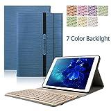 iPad 2 iPad 3 iPad 4 Tastiera Custodia, Dingrich Bluetooth Wireless QWERTY Bluetooth Wireless Tastiera Custodia PU Pelle Cover