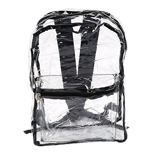 Las mujeres mochilas PVC transparente ver través