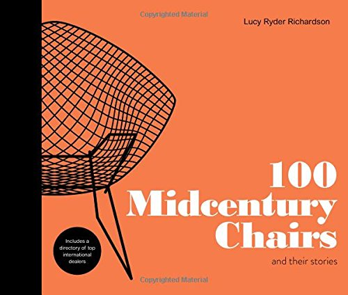 100 MIDCENTURY CHAIRS por Lucy Richardson