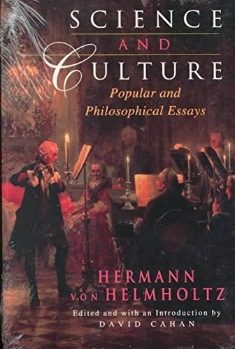 [Science and Culture: Popular and Philosophical Essays] (By: Hermann Ludwig Ferdinand Von Helmholtz) [published: October, 1995]