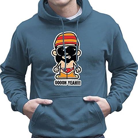 Lil Macho Man Randy Savage Ooooh Yeah Men's Hooded Sweatshirt