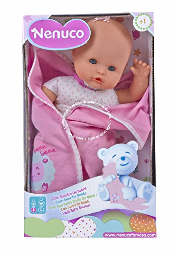 Nenuco Recién Nacido - Muñeco infantil con Sonidos de...