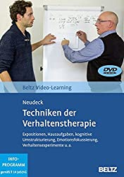 Techniken der Verhaltenstherapie: Beltz Video-Learning, 2 DVDs, Laufzeit: 228 Min.
