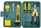#6: tool kits, tool kit set for home use, tool kits for home, tool kit set, diy 11Pcs Car Emergency Repair Tools Kits Test Pen Screwdriver Hex Key Combination Plier for Home Auto box set
