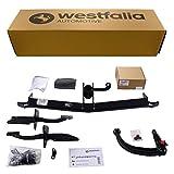 Abnehmbare Westfalia Anhängerkupplung für 500 L (BJ ab 10/2012) im Set mit 13-poligem fahrzeugspezifischen Westfalia Elektrosatz