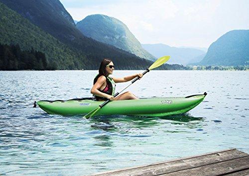 Stabielo Gumotex Twist 1 - Kayak hinchable, colores rojo, azul y amarillo