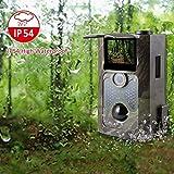 Spiel-Kamera 16MP 1080P 2,4-Zoll-IR-Nachtsicht 65ft / 20m IP54 Wasserdichte Wildlife Reconnaissance-Digitalüberwachung