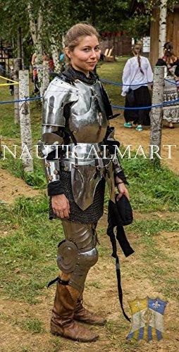 zug armor- Frau Warrior tragbar Gothic Anzug Armor (Womens Größe 20 Halloween Kostüme)