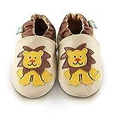 Snuggle Feet hungriger Löwe Babyschuhe, weiches kunstleder