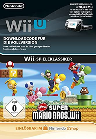 New Super Mario Bros. Wii [Wii U Download Code]