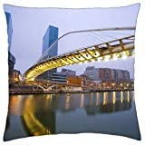 The pillow case is made of thick plush which is extremely soft and comfortable, and will help you have a good rest.