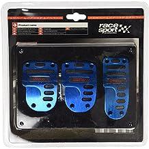 Sumex 4006416 TT - Juego de pedales de aluminio, color azul