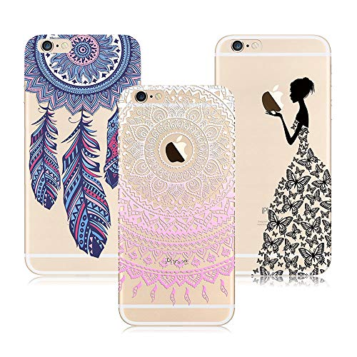 Silicone Coque Ultra Mince Transparente TPU Gel Souple Housse Doux Slim L/éger Antichoc Anti Rayure Protection Mandala Attrape Reve 3X /Étui Xiaomi Redmi Note 5 Fille Princesse