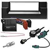 Kit d'autoradio pour bMW 5 e39 (noir)