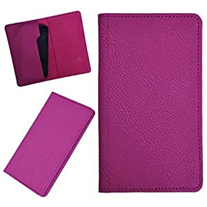 DCR Pu Leather case cover for Lava Xolo X1000 (pink)