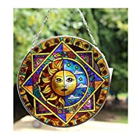 Thorness Sun and moon eclipse glass sun catcher