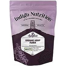 Indigo Herbs Harina de Cáñamo Orgánica 500g