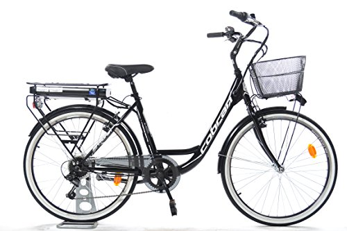Cobran bike Bici elettrica a Litio New Easy (Nero)