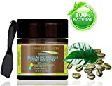 ORGANIC BRAZILIAN GREEN ARABICA COFFEE SEED BUTTER 100 % Natural / 100% PURE BOTANICALS. VIRGIN/ UNREFINED BLEND. 8 Fl.oz.- 240 ml. For Skin, Hair and Nail Care. One of the best butters to reduce wrinkles, puffiness, dark circles. Anti-cellulite body care.' by Botanical Beauty.