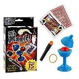 AAB 1Set Juguete mágico Bola mágica de desaparición clásica and Jarrón Party Magic Trick Set Magic Props Show Toy Magic Toy