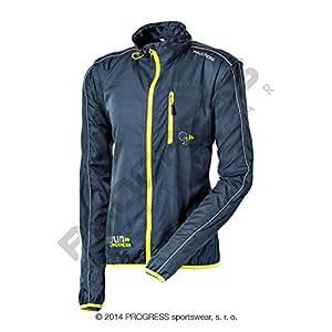 Progress aERO rUN veste de course légère-coupe-vent-manches amovibles-taille s :